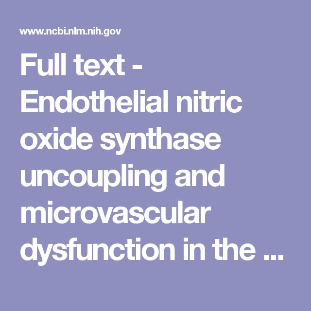 Full text - Endothelial nitric oxide synthase uncoupling and microvascular dysfunction in the mesentery of mice deficient in α-galactosidase A