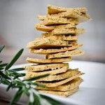 Crackers van kikkererwtenmeel, deze ga ik proberen!