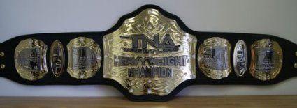 TNA WORLD HEAVYWEIGHT CHAMPIONSHIP ADULT SIZE REPLICA WRESTLING BELT
