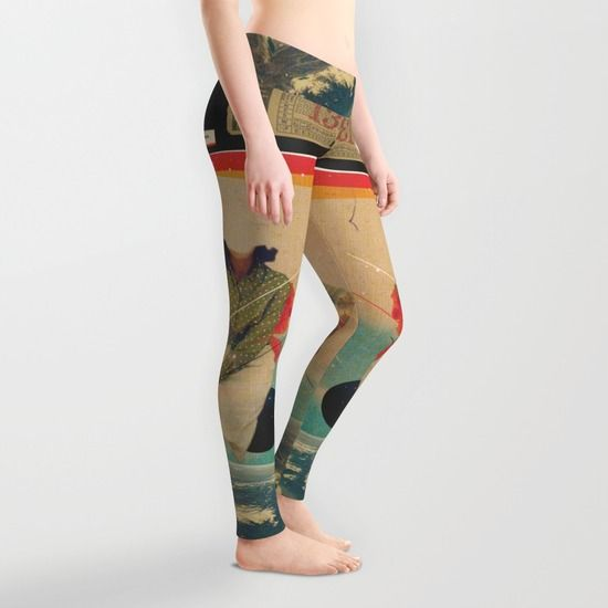 MBI13 Leggings by Frank Moth | Society6