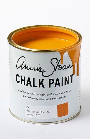 barcelona orange paint kitchen - Google Search
