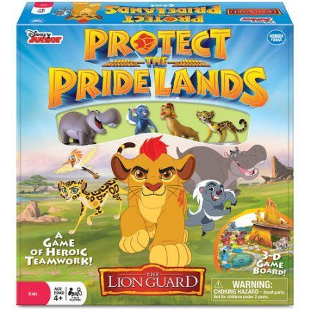 Disney Junior The Lion Guard: Protect the Pride Lands Game, Multicolor