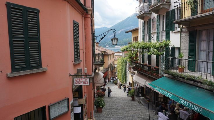 #Bellagio Street Lake Como