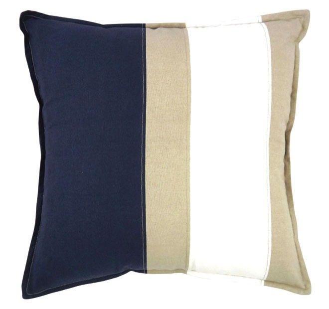 Newport 50x50cm Filled Cushion Navy | Manchester Warehouse