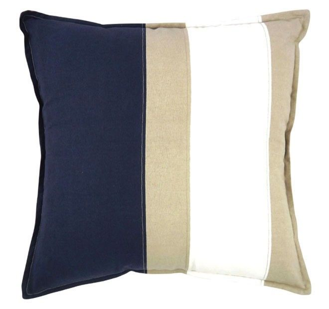 Newport 50x50cm Filled Cushion Navy | Manchester Warehouse