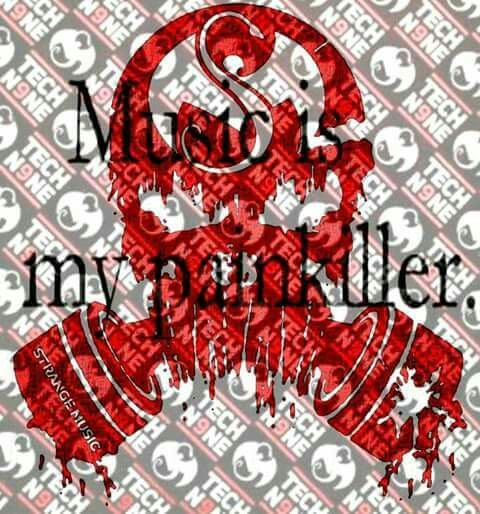 music is my painkiller - dope Strange Music edit ^S^❤