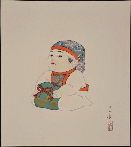 1935 - Hasui, Kawase - Gosho - Ningyo #1