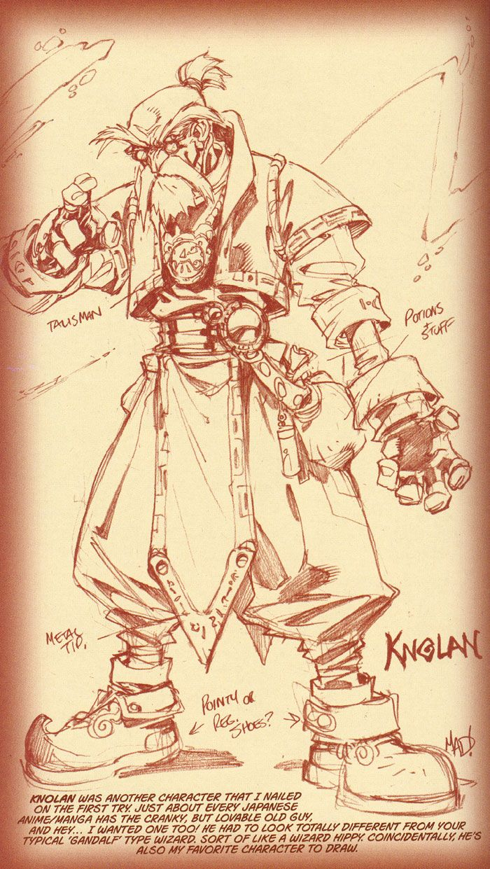 Battle Chasers Collected #1 sketches