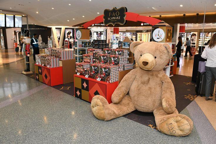 Visit FAO Schwarz at JFK Airport Terminal 4 this holiday season!