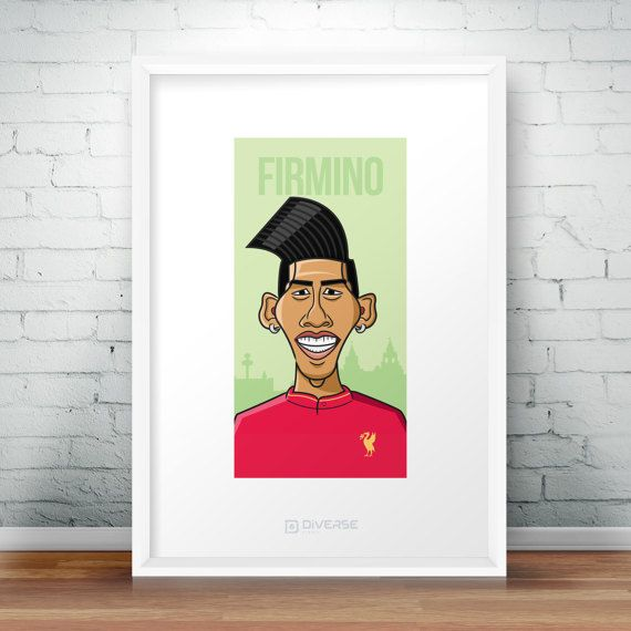 Check out this item in my Etsy shop https://www.etsy.com/uk/listing/514797703/roberto-firmino-liverpool-a4-poster