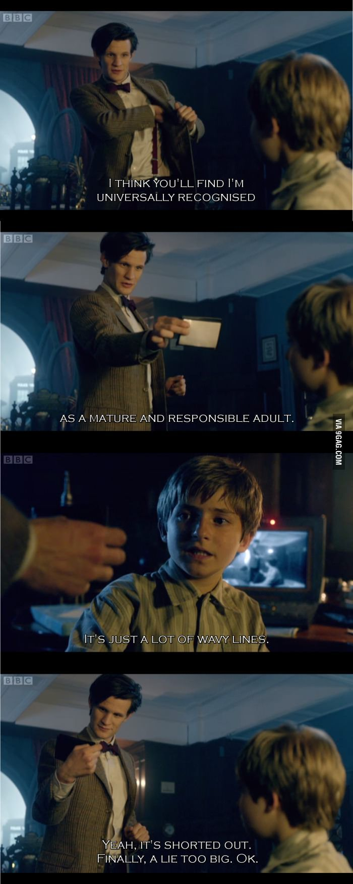 Why I love Doctor Who 9gag.com