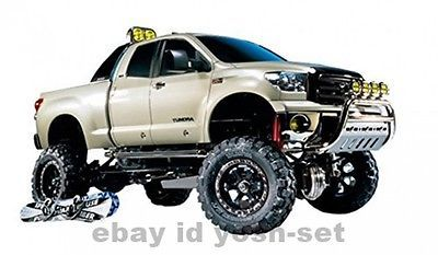 ﹩357.99. Tamiya 1/10 RC Car Series No.415 TOYOTA TUNDRA High-Lift 58415 Model Kit   Scale - 1:10, Type - Off-Road