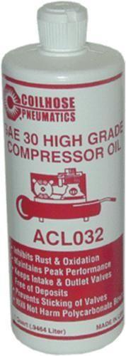 Coilhose Pneumatics ACL032-P12 Air Compressor Oil, 1 Qt