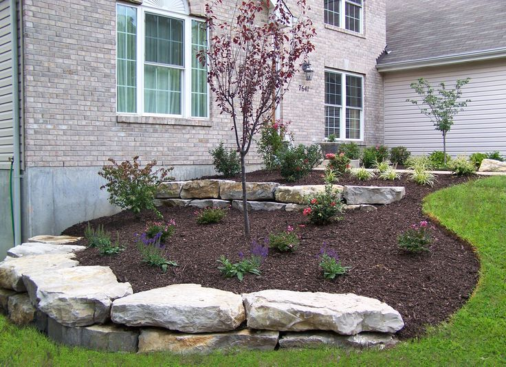 Landscape Design Retaining Wall Ideas simple landscape retaining wall designs ideas pictures and diy plans Landscaping Boulder Walls Boulder Retaining Walls Landscaping St Louis Landscape Design