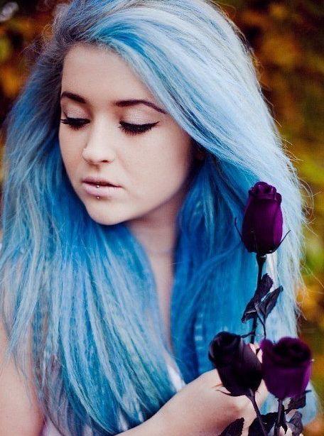 светло голубые волосы - Поиск в Google