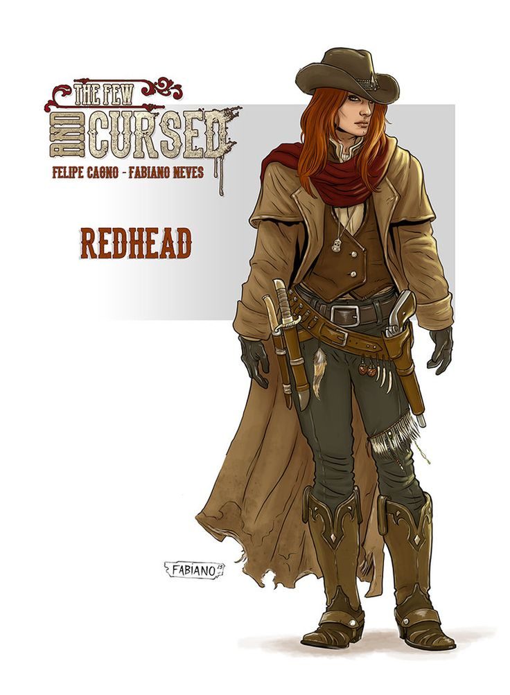 The Redhead . Personal Project with my friend Felipe Cagno . My facebook page Official The Few and Cursed fan page