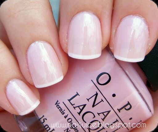 manicure -                                                      OPI - it's a girl perfect touch of soft pink
