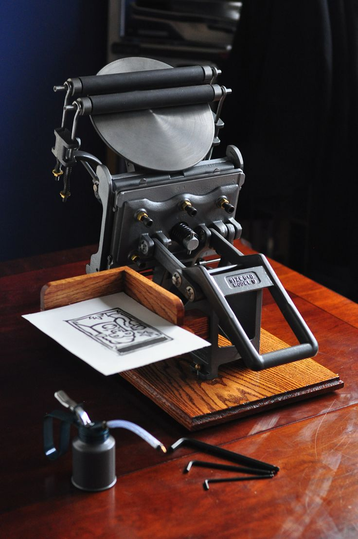 Letterpress Restorations: SOLD - Kelsey Model U 5x8 Fully Restored and Upgra...