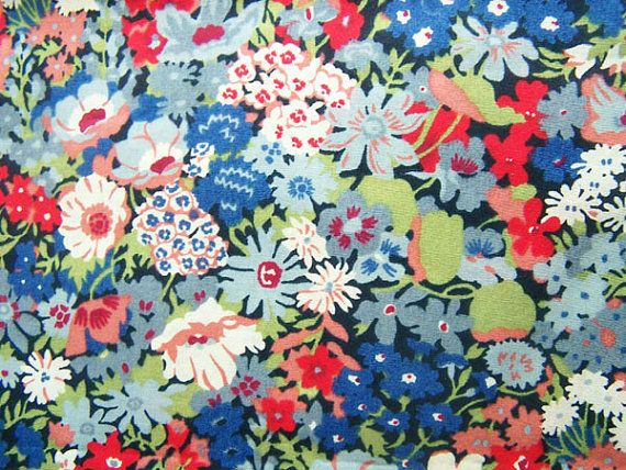Liberty of London tana lawn fabric thorpe YARDAGE by MissElany