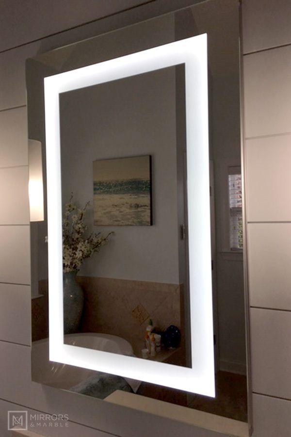 Lighted Led Bathroom Mirror Medicine Cabinet 24 X 36 Flush