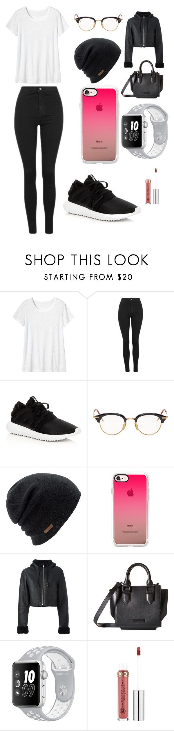 """Sans titre #2270"" by merveille67120 ❤ liked on Polyvore featuring Toast, Topshop, adidas, Thom Browne, Coal, Casetify, adidas Originals, Kendall + Kylie and Anastasia Beverly Hills"