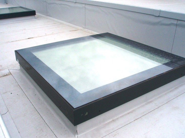 VITRAL Skyvision is the flat rooflight that maximizes the amount of natural daylight without intrusive framing being visible from beneath. VITRAL has a modular skylight which comes complete with kerb for installation onto flat and shallow pitched roofs. U-value - Skyvision glass rooflight exceeds Part L Building Regulation with a U value of 1.24 W/m²K. It can be installed on a flat roof at 4° up to a slope of 15°.