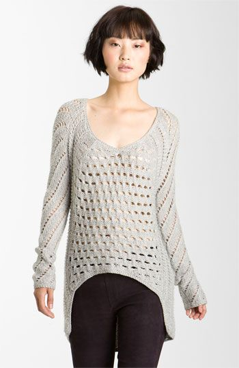 http://shop.nordstrom.com/S/helmut-lang-inherent-texture-knit-sweater/3358513?origin=category==3762 My hair now, because I keep cutting it myself instead of taking it to a salon so that it has proper shape and weight. Also I like that sweater.