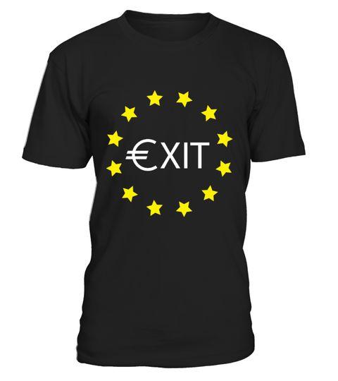 EU BREXIT EUROPEAN REFERENDUM Vote Leave  t-shirt