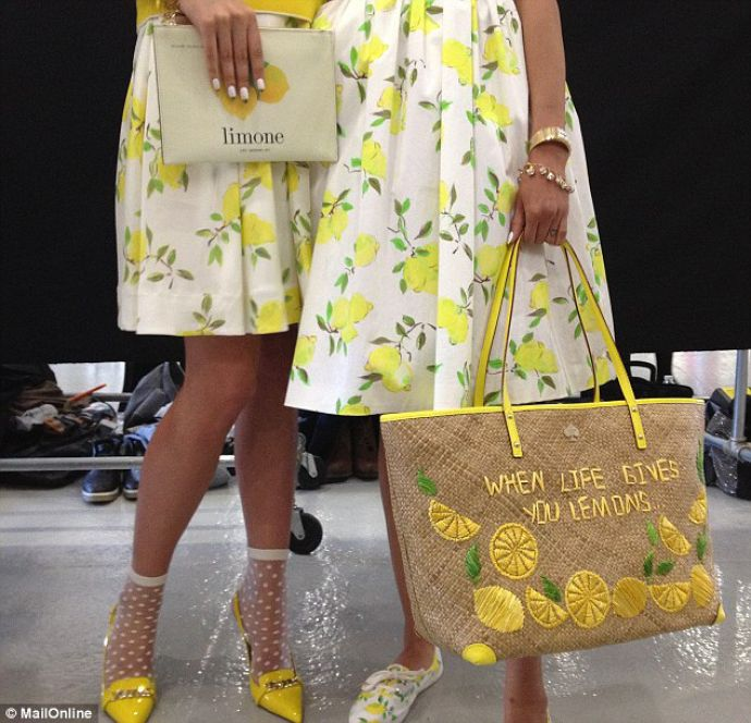 Yellow kate spade dress outlet