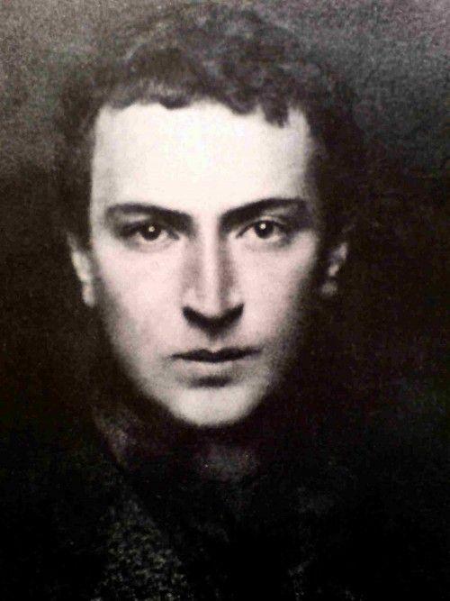 Ο Άγγελος Σικελιανός σε νεαρή ηλικία