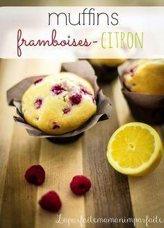 Muffins framboises-citron/e vous partage aujourd'hui une recette de muffins qui créera ni plus ni moins une explosions de saveurs à vos papilles!
