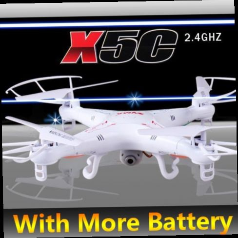 52.50$  Buy here - http://alij78.worldwells.pw/go.php?t=32219311495 - (In Stock)100% Original SYMA X5C X5C-1 With More Original Batteries 4CH 2.4G RC Remote Control Quadcopter with 2.0M Camera 52.50$
