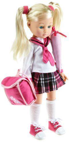 Simba 105152836 - Madeleine, bambola in vinile con borsa della scuola, 36 cm di Simba Toys, http://www.amazon.it/dp/B004QZA5QY/ref=cm_sw_r_pi_dp_Fm5wtb0J47HKR