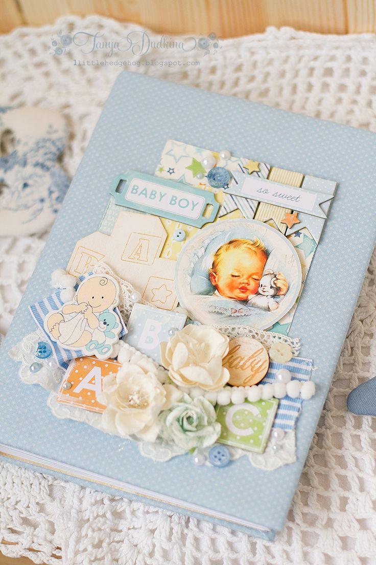 Вдохновение: Бейби Шик блокнот + тканевые буквы и Улов новогодних игрушек на барахолке :)