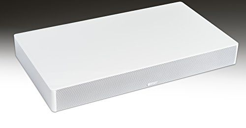 Cheap Canton DM 50 TV Soundbase 2.1 200 W Virtual Surround Sound with Glass Top - White Best Selling