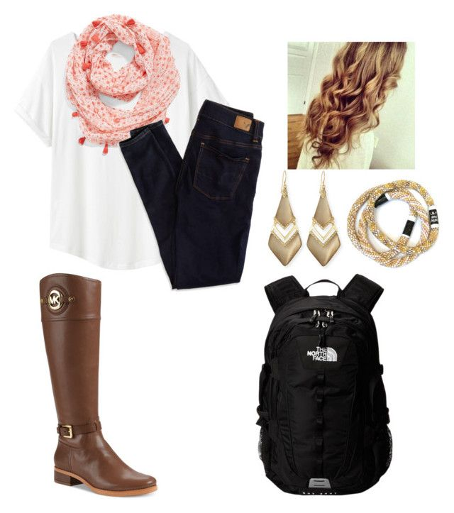 """Preppy school outfit"" by moseleym ❤ liked on Polyvore"