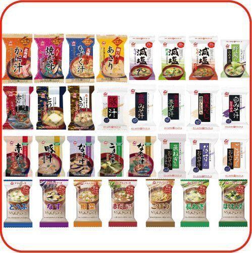 【 アマノフーズ フリーズドライ 味噌汁 】 みそ汁 31種類 1ヶ月 お楽しみ バラエティ セット [ フリーズ ドライ ねぎ 5g 、 鰹の旨みたっぷりお味噌汁 1個付 ] アマノフーズ, http://www.amazon.co.jp/dp/B009AM0ZMW/ref=cm_sw_r_pi_dp_UcjHtb1G1ZRT6