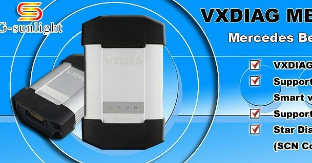 VXDIAG MB Star C6 Mercedes Benz Xentry Diagnosis VCI Original MB SD