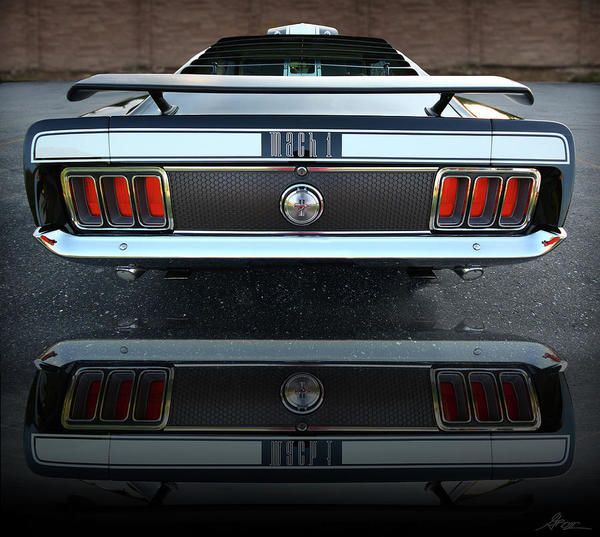 1970 Ford Mustang Mach 1 429 #cars #coches #carros