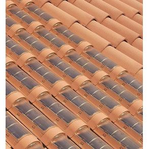 Teja solar: ecología y diseño. #arquitectura #bioconstrucción #solar