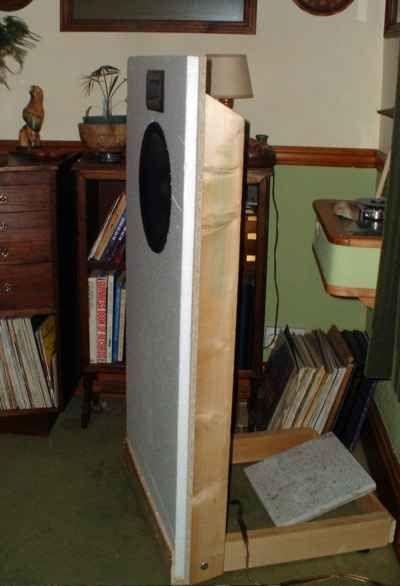 My full-range open-baffle 'speakers | Sound | Open baffle ...