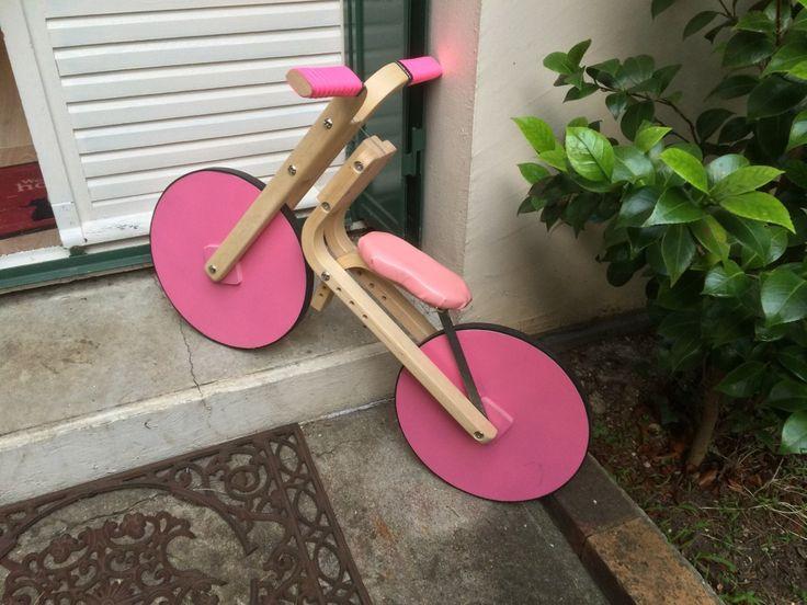 Une nouvelle draisienne avec 2 tabourets IKEA !  #draisienne #FROSTA #ikea