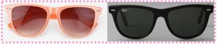 wayfarer sunglasses {great shape}