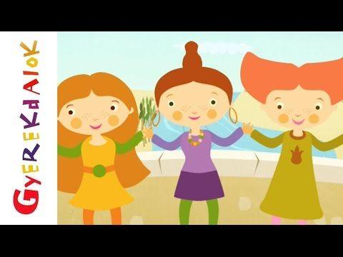 Hídló végén (gyerekdal, rajzfilm gyerekeknek) - YouTube