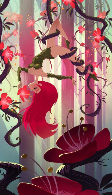Poison Ivy par Guillaume Poux