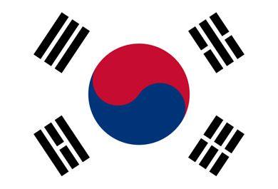 Bandera de #Corea del #Sur