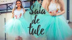 DIY:SAIA DE TULE SEM COSTURA FADA DO DENTE | Festa à Fantasia BlogCWB | Amanda Cazura