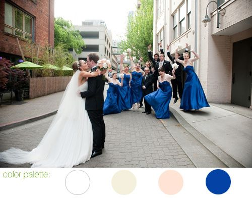 glamorous alexis hotel wedding, downtown seattle - photos by seattle wedding photographer Barbie Hull | JunebugWeddings.com