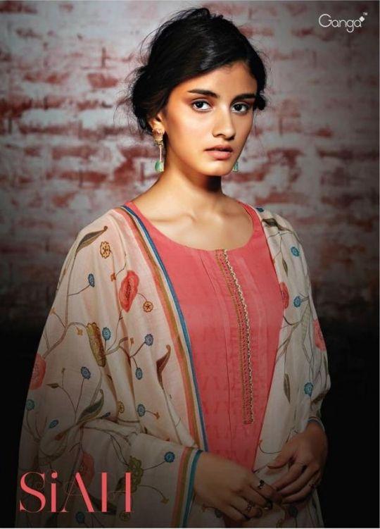 e431c469d3 GANGA FASHION SIAH NEW PAKISTANI DRESS in 2019 | GANGA SUITS SIAH | New  pakistani dresses, Pakistani dresses, Summer suits