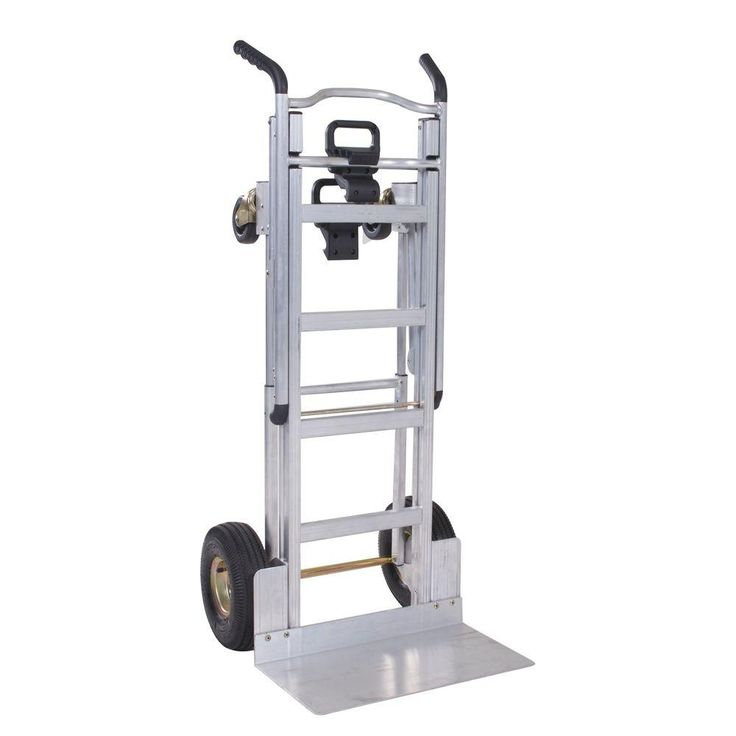 Cosco 1000 Lb 3 In 1 Aluminum Assisted Hand Truck With